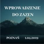 Wprowadzenie do zazen w Poznaniu